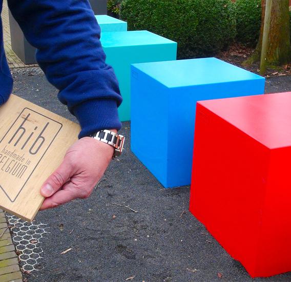 """WALFiLii verkreeg de award """"Handmade in Belgium"""". Sokkels in alle mogelijke kleuren beschikbaar."""