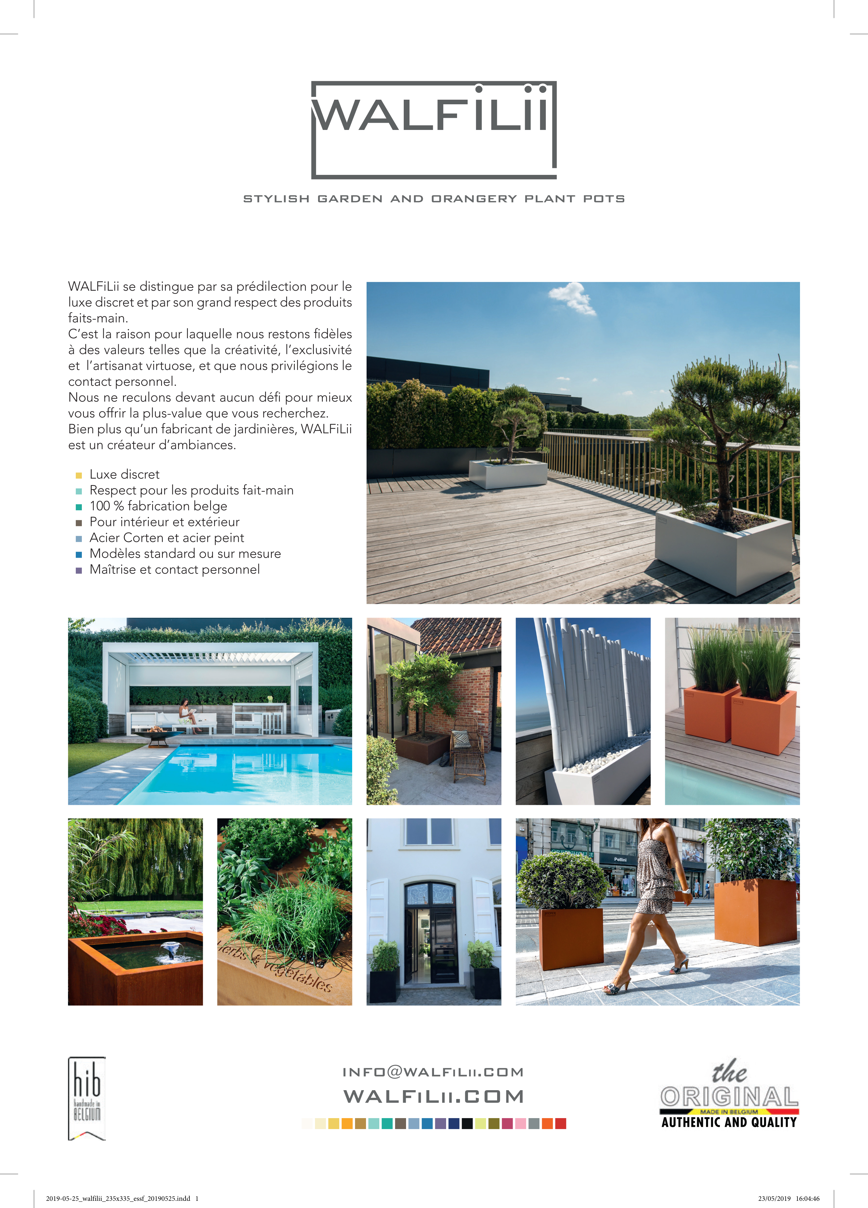 WALFiLii in de pers Focus Essentiel magazine