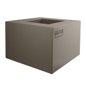 Buy WALFiLii design planter in grey or many other colours